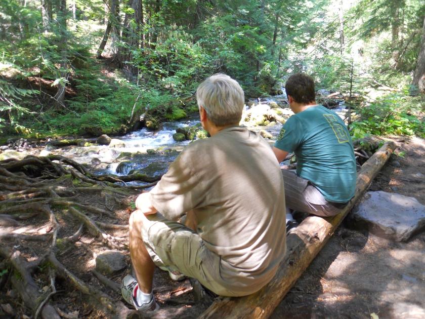 Cold Spring Creek, Mt. Hood Wilderness, Oregon