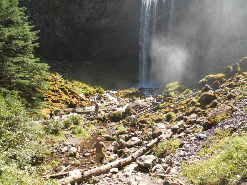 Tamanawas Falls, Mt. Hood Wilderness, Oregon