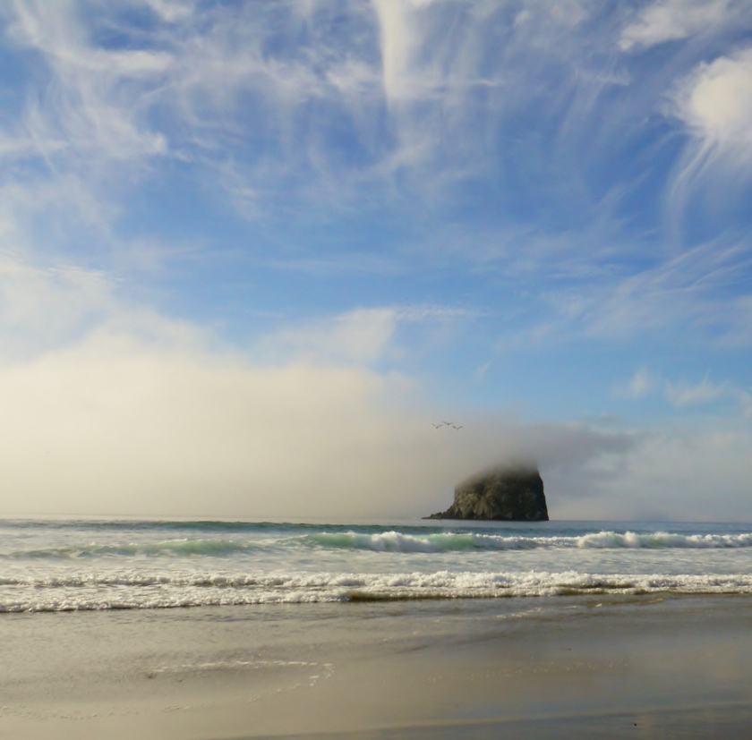 Haystack Rock Pacific City