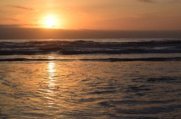 Sunset, Thursday
