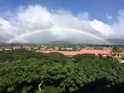 A complete rainbow