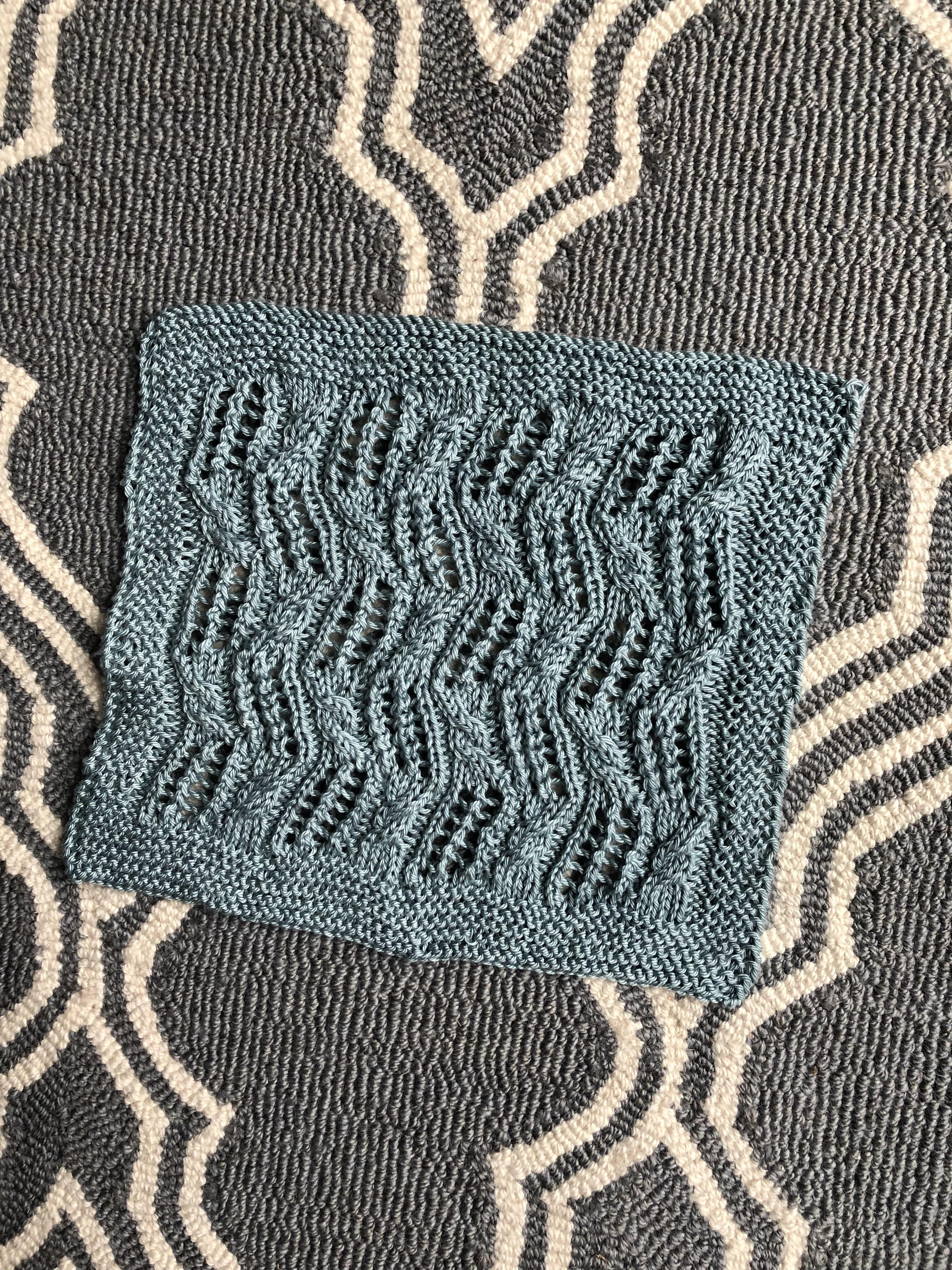 Spa Cloth – knit equals joy