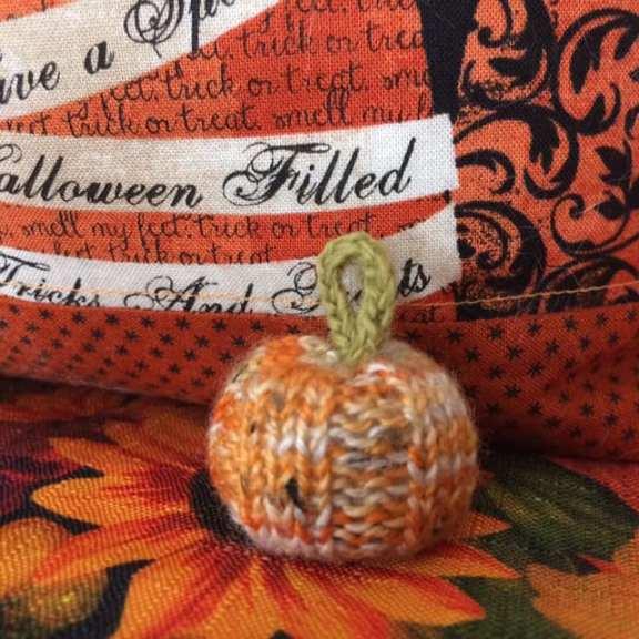 Carla's Tiny Pumpkin